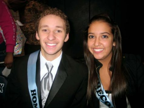 Homecoming 2010 with Juniors (now Seniors) Quentin Bryant and April Curtis