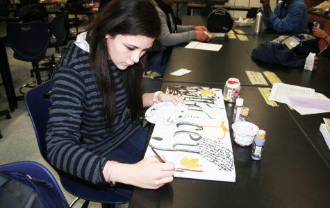 AP Studio Art Students Gain High Marks at Portfolio Day