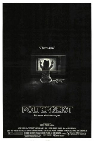 Movie poster for Spielberg's