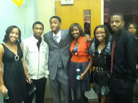 Loy Norrix students Reana Smith, London Taylor, Raymond Ryan, Natillie Doram, Jazmine Houston, and Trenton Beamon attend the NAACP banquet on November 5th. All nominees received a plaque.