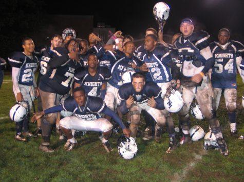 Senior Night On The Football Field