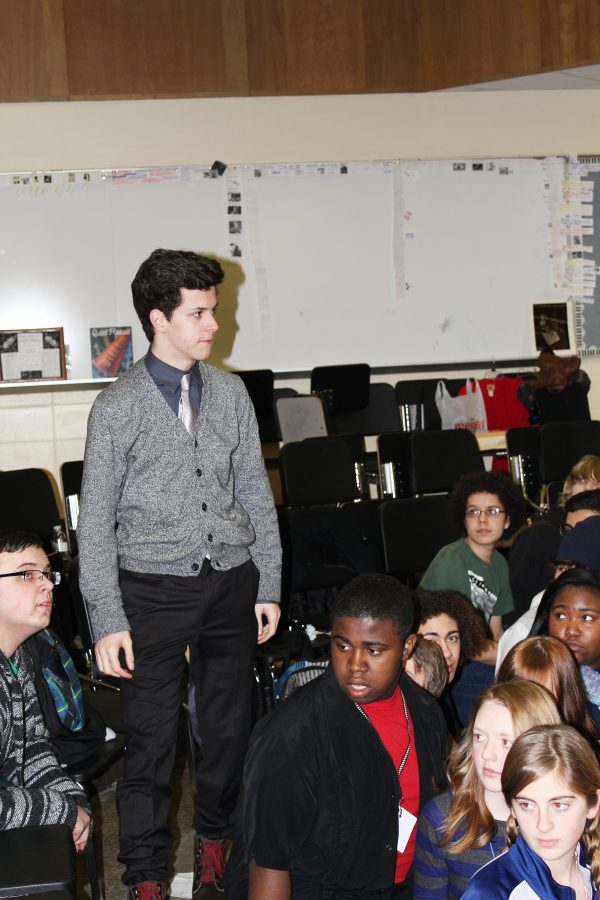Joe Santamaria is the lead in this year's musical