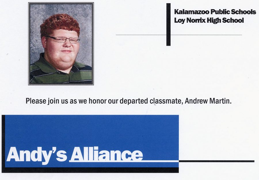 Andy's Alliance Honors His Wish