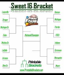 Photo Credit PRWebAs teams are eliminated after each game, brackets are made to predetermine who will win next. The last sixteen teams in the tournament are set up to play one another and the bracket will soon be down to eight teams.