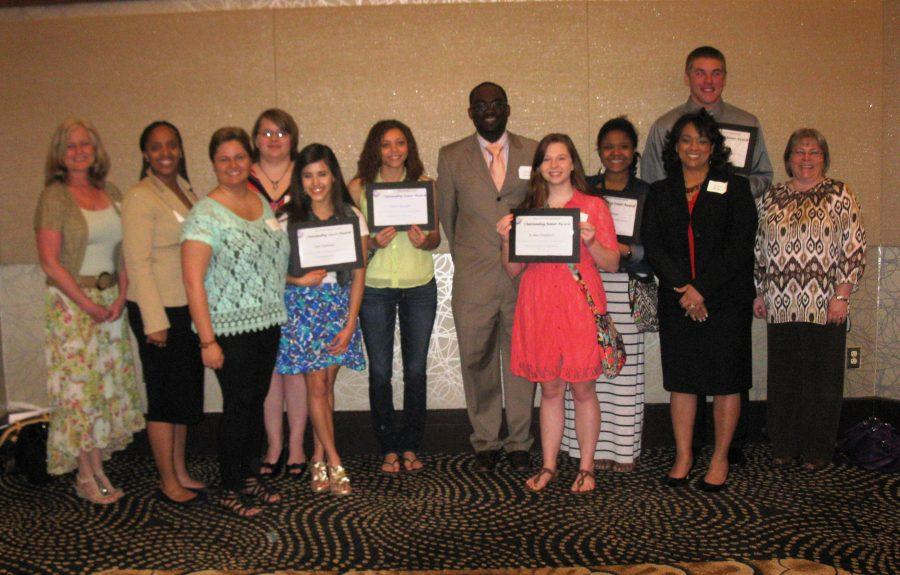 Photo used with permission Loy Norix seniors students get awards for their high achievements in EFE courses.