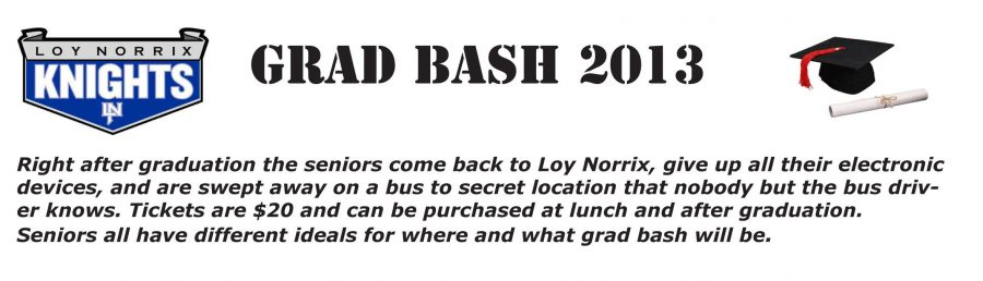 Grad Bash 2013 Predictions