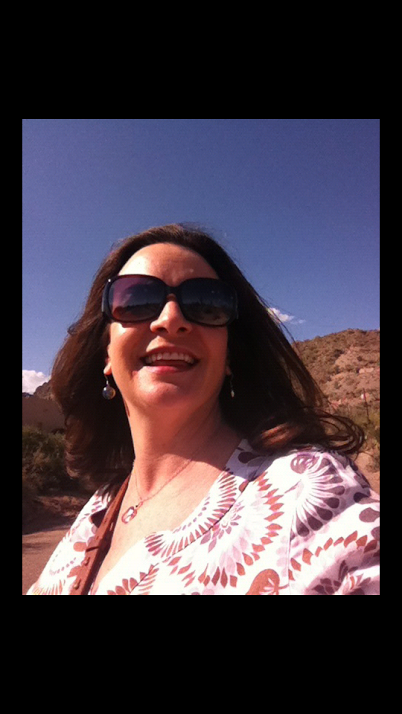 This selfie is of English teacher and Knight Life Advisor Tisha Pankop posing in Phoenix, Arizona over this past Spring Break. This is the third selfie she's ever taken, and the first one she's ever published
