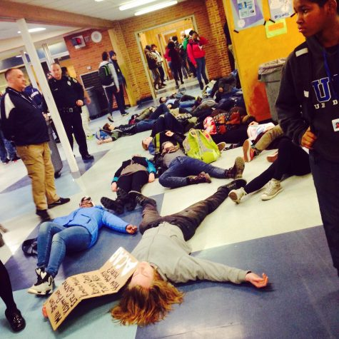 Loy Norrix Students Protest Police Brutality Against Young Black Males