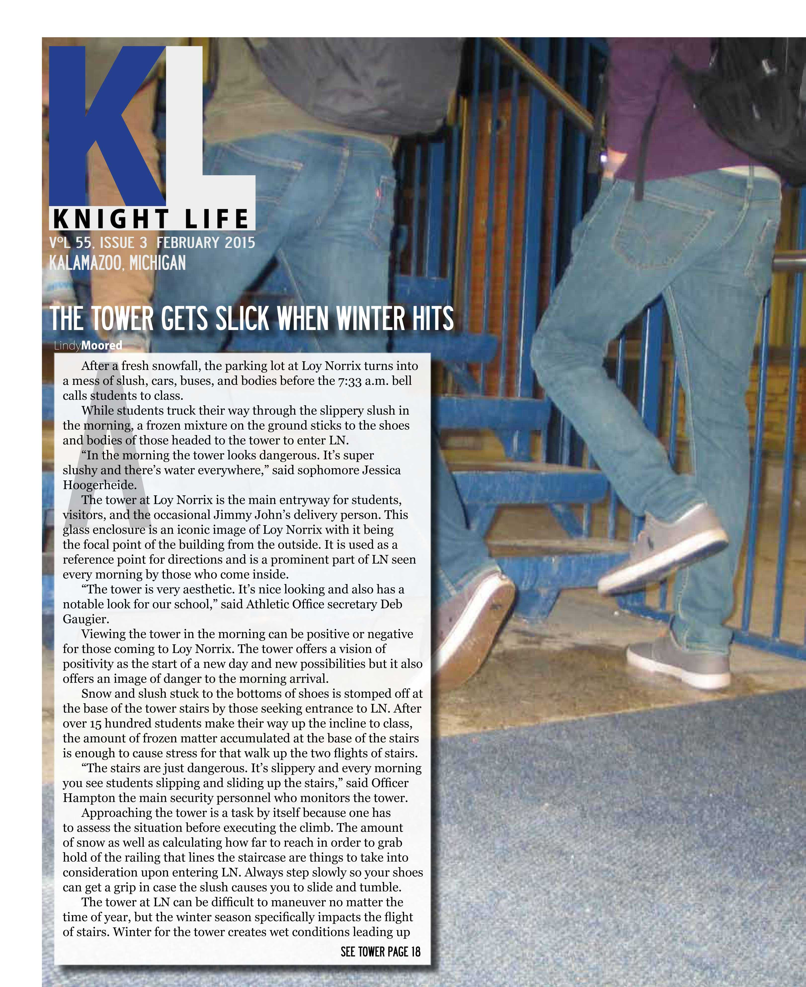 Click on image to read the print addition of Knight Life.