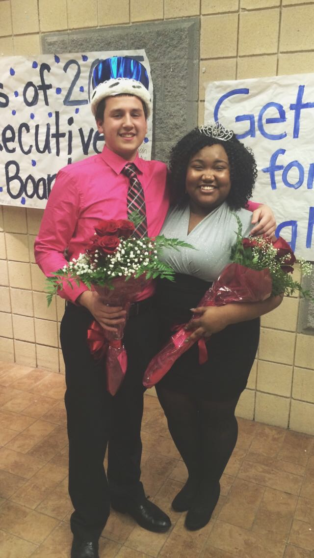 Malike Tolin and Ciara Baker are Loy Norrix's 2015 Winterfest King and Queen!