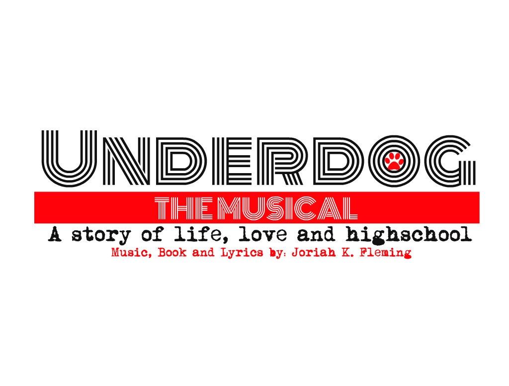 """Among Joriah's many talents, he also designed the first logo for his show. """"Underdog"""" is one of many shows that he Joriah has written, and his second one to be produced."""