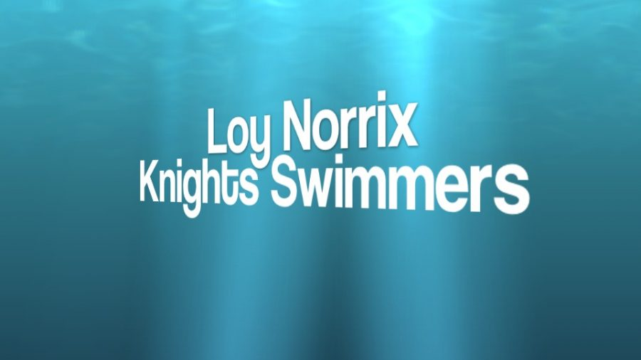 Loy Norrix Men's Swim Team