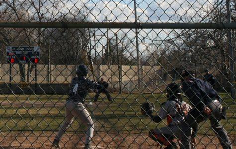 Knights Baseball Team Sweeps Benton Harbor