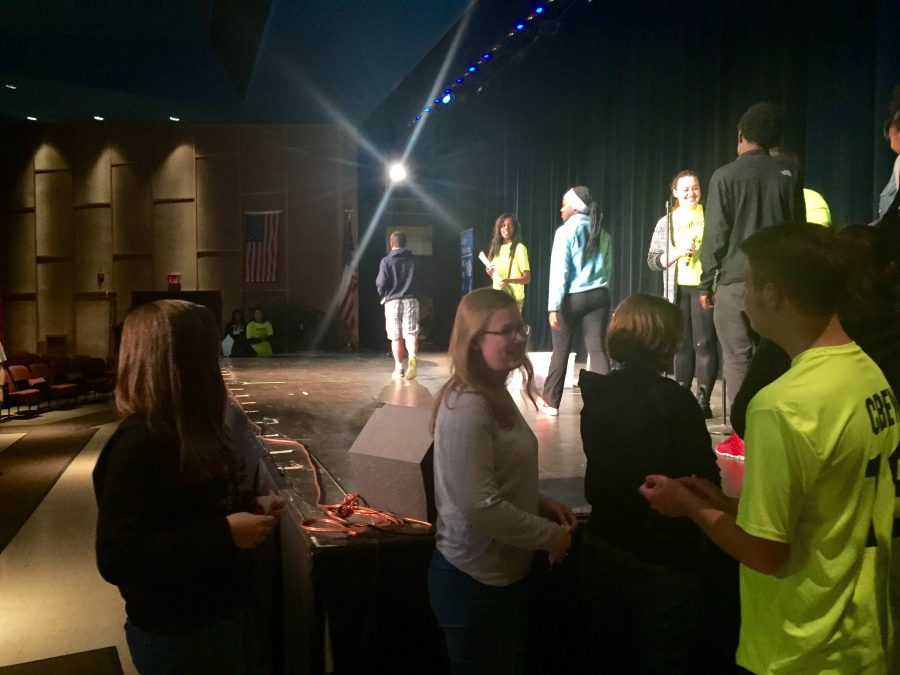 Link Crew Holds Loy Norrix's First Freshman Award Ceremony