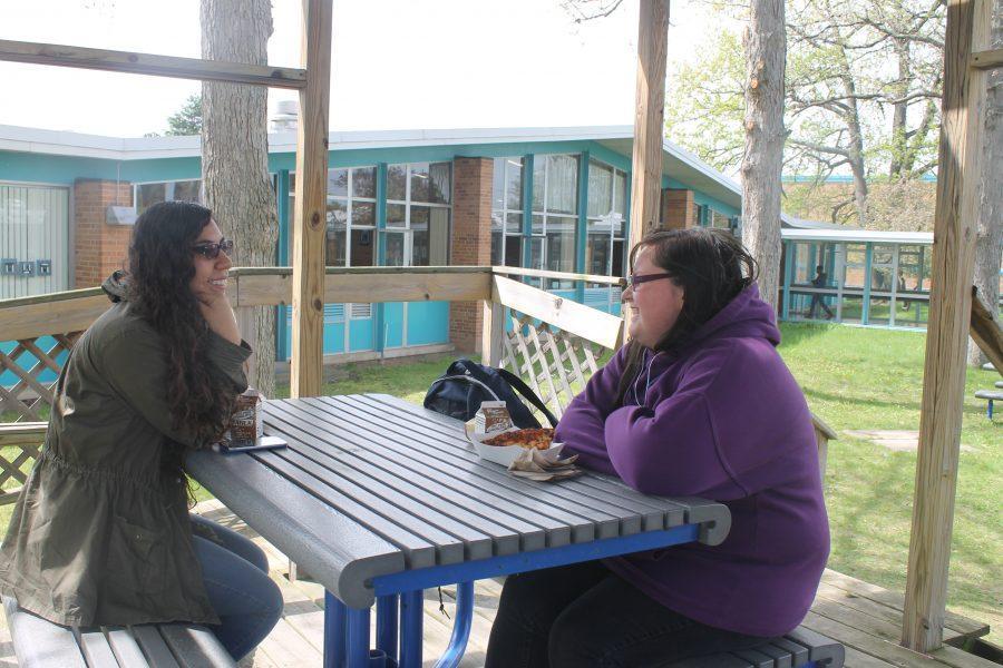 Humans of Loy Norrix (Jessica Merica and Elizabeth Avila)