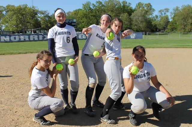 Softball Sends off Five at Senior Night