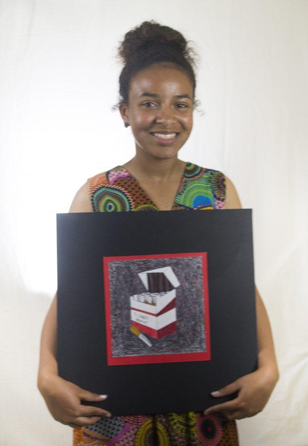 Senior Shaquona Espinoza Shares Her Passion for Art