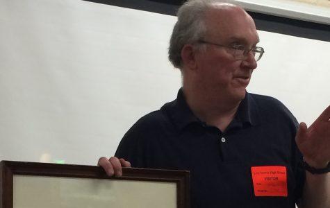 Western Michigan University Professor Shows Latin Students Ancient Manuscripts
