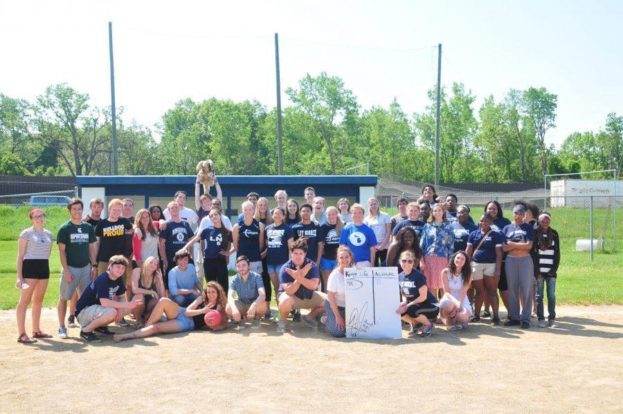 Knight Life Slams Yearbook in Kickball Tournament