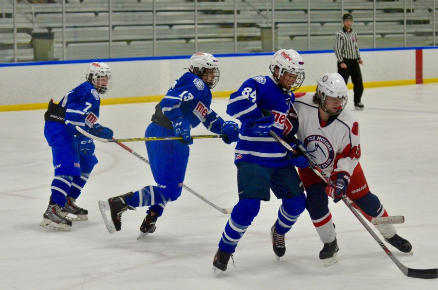 Ice Hockey Can Be Tough, But Rewarding