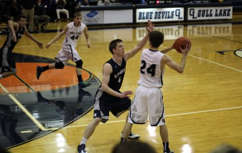 Loy Norrix Knights Tower Above The Gull Lake Blue Devils