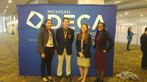 DECA Students Learn New Business Perceptions and Bring Home the Gold in Competition.