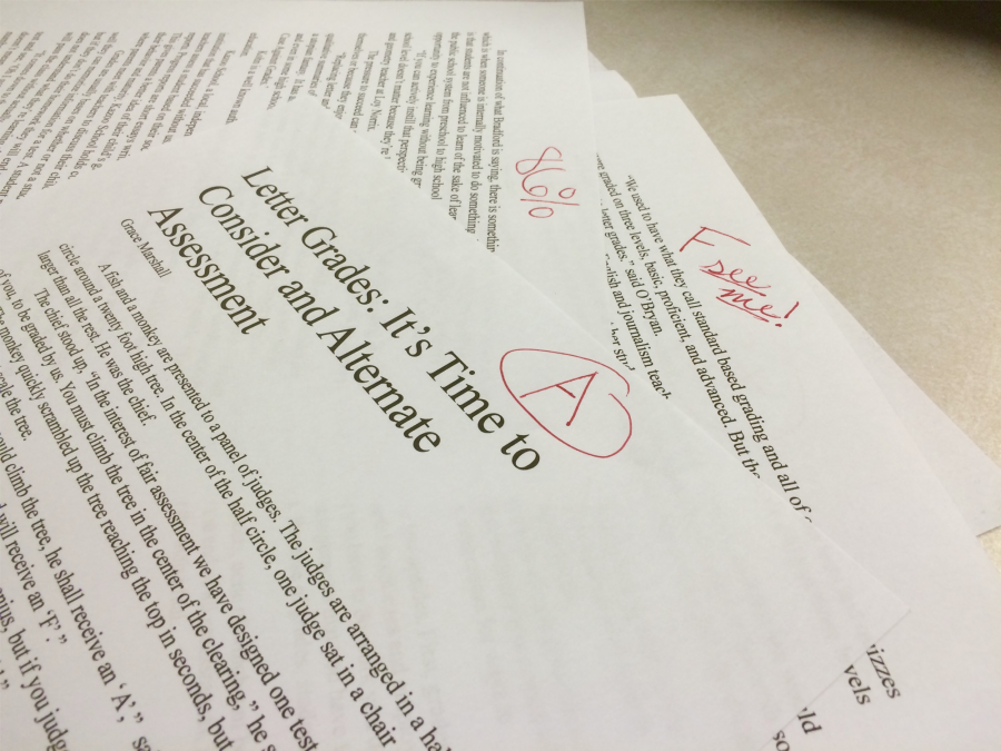 Letter Grades: It's Time to Consider an Alternate Assessment