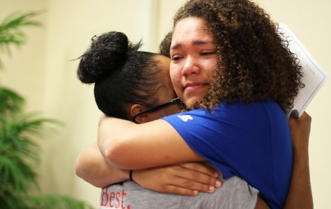 College-Bound Athletes Show Emotion at Signing Party