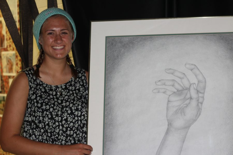 Students Showcase Art at EFE Expo