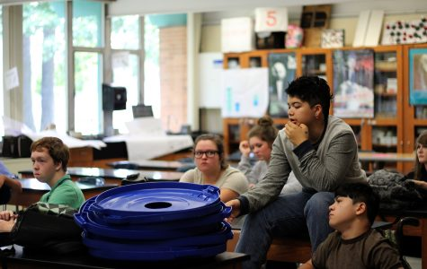 Green School Club Members Work to Make Loy Norrix an Environmentally Friendly School