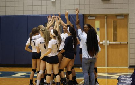 The Lady Knights Volleyball Team is Back for More