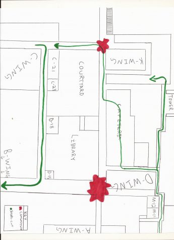 Hallway Congestion: Getting Around Loy Norrix More Quickly