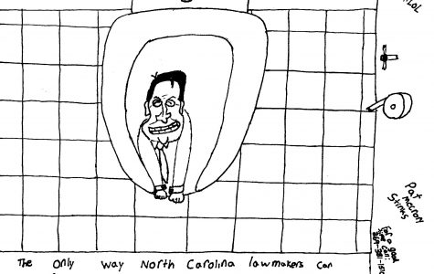 Pat McCrory Political Cartoon