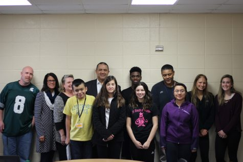 Students And Staff Of The Month; January