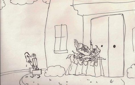 Political Cartoon from Greg Stevens' Cartooning Class