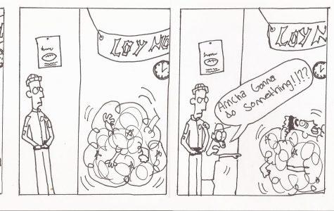 Comic Strip By DJ Pierce