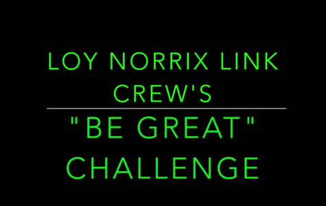 "Loy Norrix High School Link Crew's ""Be Great Challenge"""