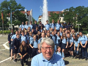 Loy Norrix Student Tours Europe With Blue Lake Fine Arts Camp