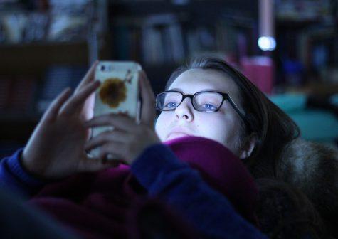 Blue Light Disrupts Sleep