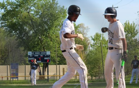 KNIGHTS BASEBALL SWINGS INTO DISTRICTS