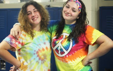 Loy Norrix Spirit Week: Tie-Dye Day