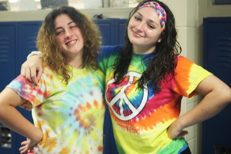 Loy Norrix Spirit Week: Tie-Dye Day