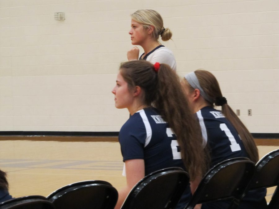 Positivity Prevails: Loy Norrix New Varsity Volleyball Coach Pushes Players to Succeed On and Off The Court