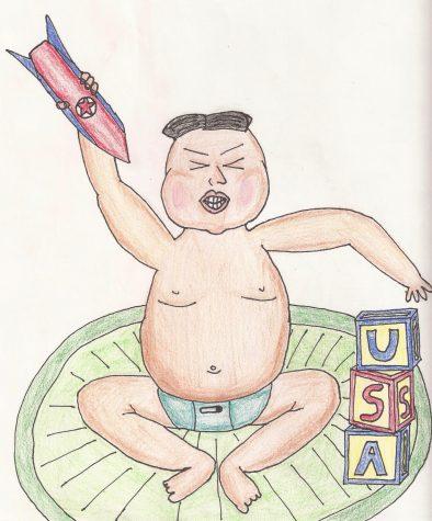 Baby Kim Plays with Nuke