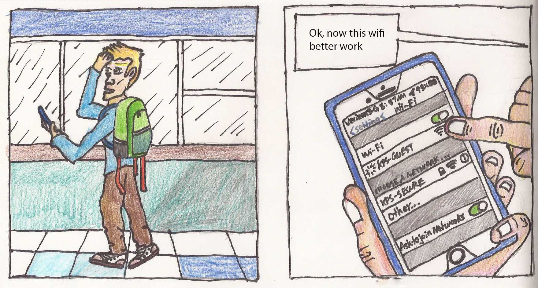 sawyer spink comic