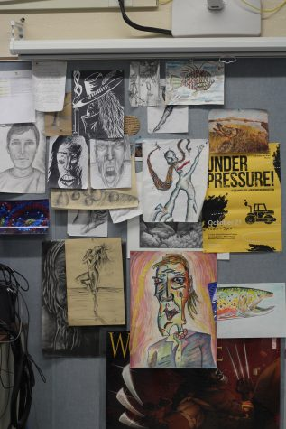 Taking a Closer Look at Loy Norrix's Advanced Placement Art, Cartooning and Functional Ceramics Classes