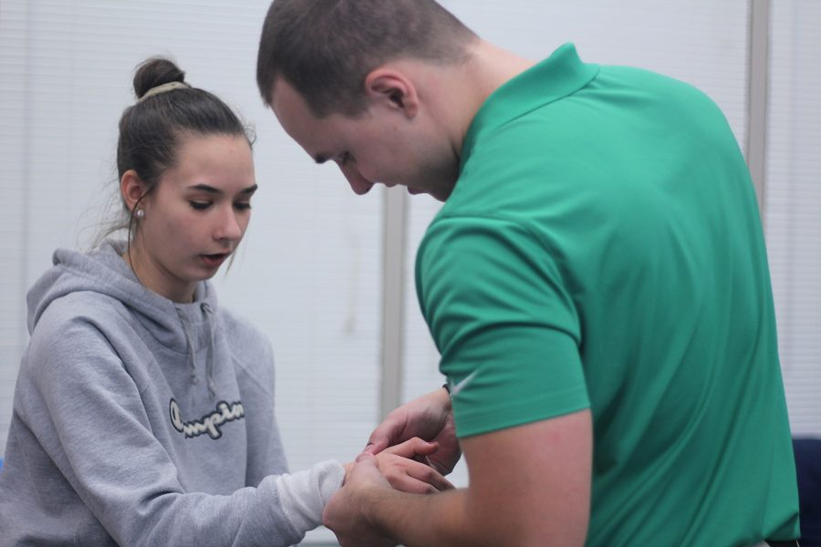 From Minnesota to Michigan: LN Athletic Trainer puts his Students First