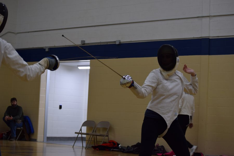 Block, Parry, Thrust!: Loy Norrix Student Participates in Local Fencing Program.