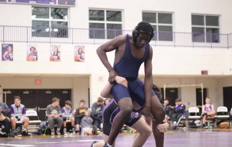 Loy Norrix Wrestlers and Cheerleaders Focus on the Wins No One Sees