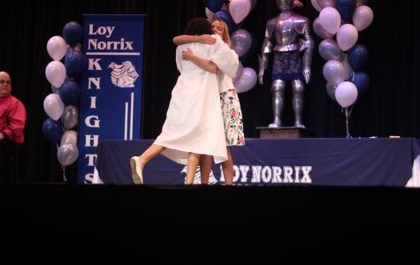 Candlelight: A Hopeful Goodbye to Norrix Seniors